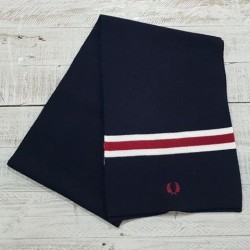 ECHARPE NAVY FRED PERRY.