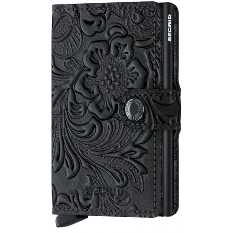 MINIWALLET ORNEAMENT BLACK SECRID.