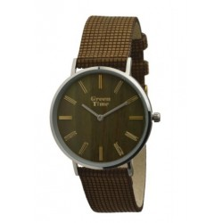 MONTRE BRACELET VEGAN GREEN TIME.