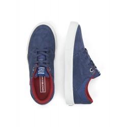 SNEAKERS BARTON SUEDE NAVY JACK & JONES JR.