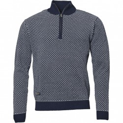 PULL COTON COL CAMIONNEUR NORTH 56°4 T.