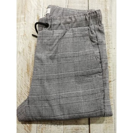 PANTALON CARREAUX BLEND.