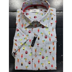 CHEMISE MANCHES COURTES CHILI.