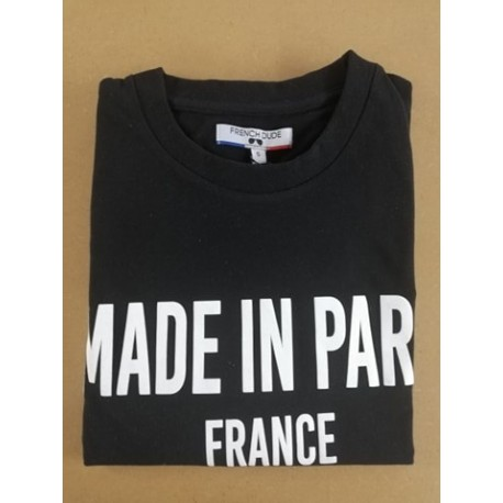 T-SHIRT MADE IN PARIS FRENCH DUDE.