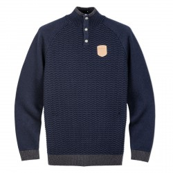 PULL BOUTONNÉ OXBOW.