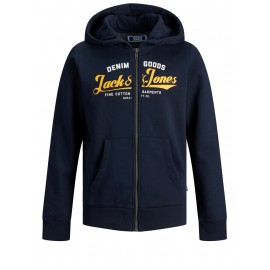 SWEAT ZIP LOGO JACK & JONES JR.