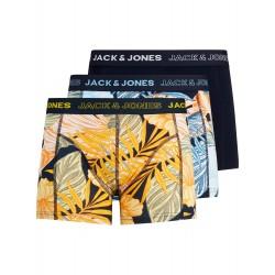 PACK 3 BOXERS SUMMER LEAF JACK & JONES.