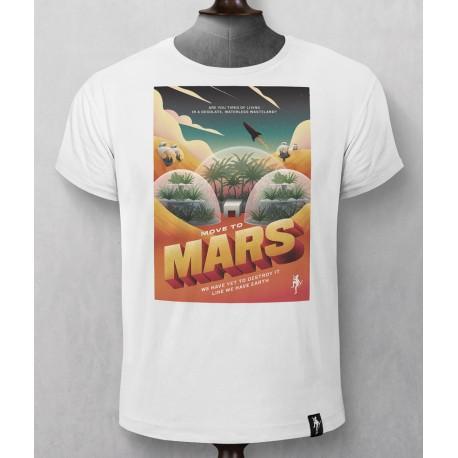 T-SHIRT LIFE ON MARS DIRTY VELVET.