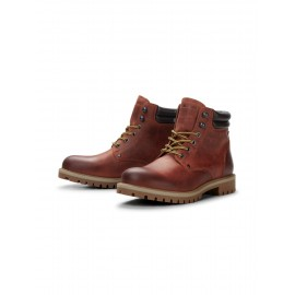 STOKE LEATHER BOOT JACK & JONES.