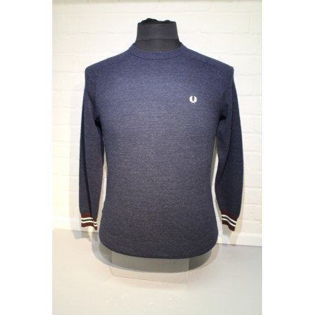 PULL COL ROND FRED PERRY XL.