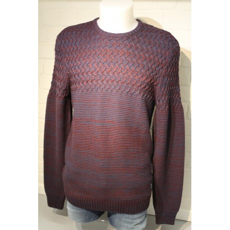 PULL COL ROND BLEND M.