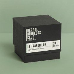 "TISANES ""LE TRANQUILLE"" x20 HERBAL DRINKERS CLUB"