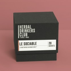 "TISANES ""LE SOCIABLE"" x20 HERBAL DRINKERS CLUB"
